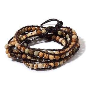 Versatile, beaded wrap jewelry.