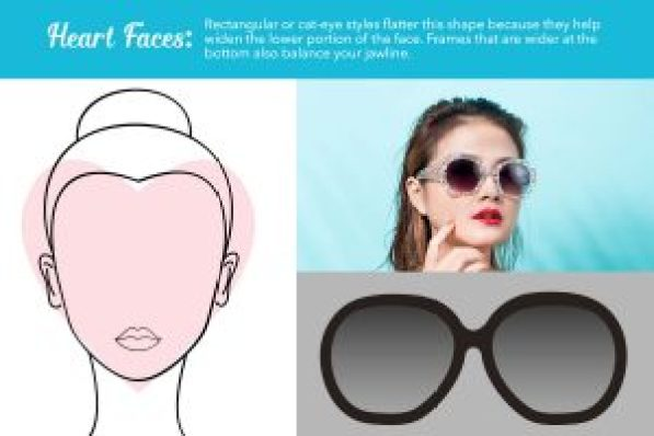 heart face sunglasses guide