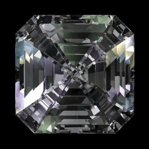 Asscher Cut Gemstone