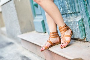 Sandals are a staple summer fashion.