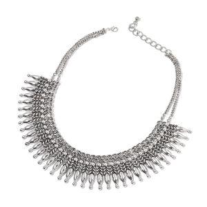 dramatic bib necklace