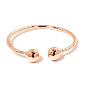 Minimalist rosegold ring