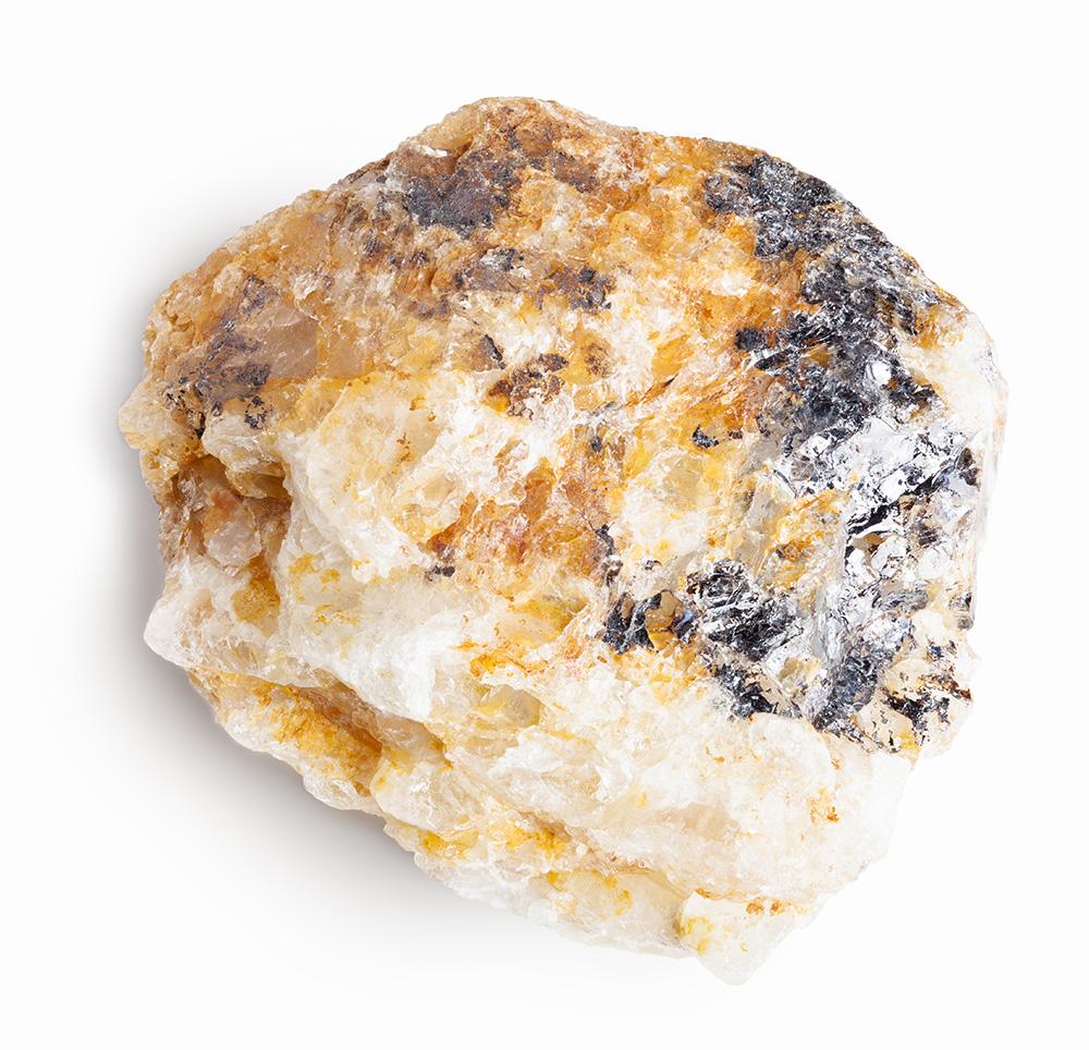 Beryllium ore.