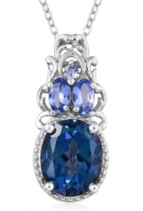 Mystic Topaz pendant.