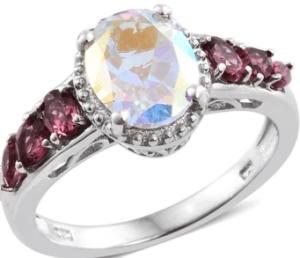 Mystic Topaz ring.