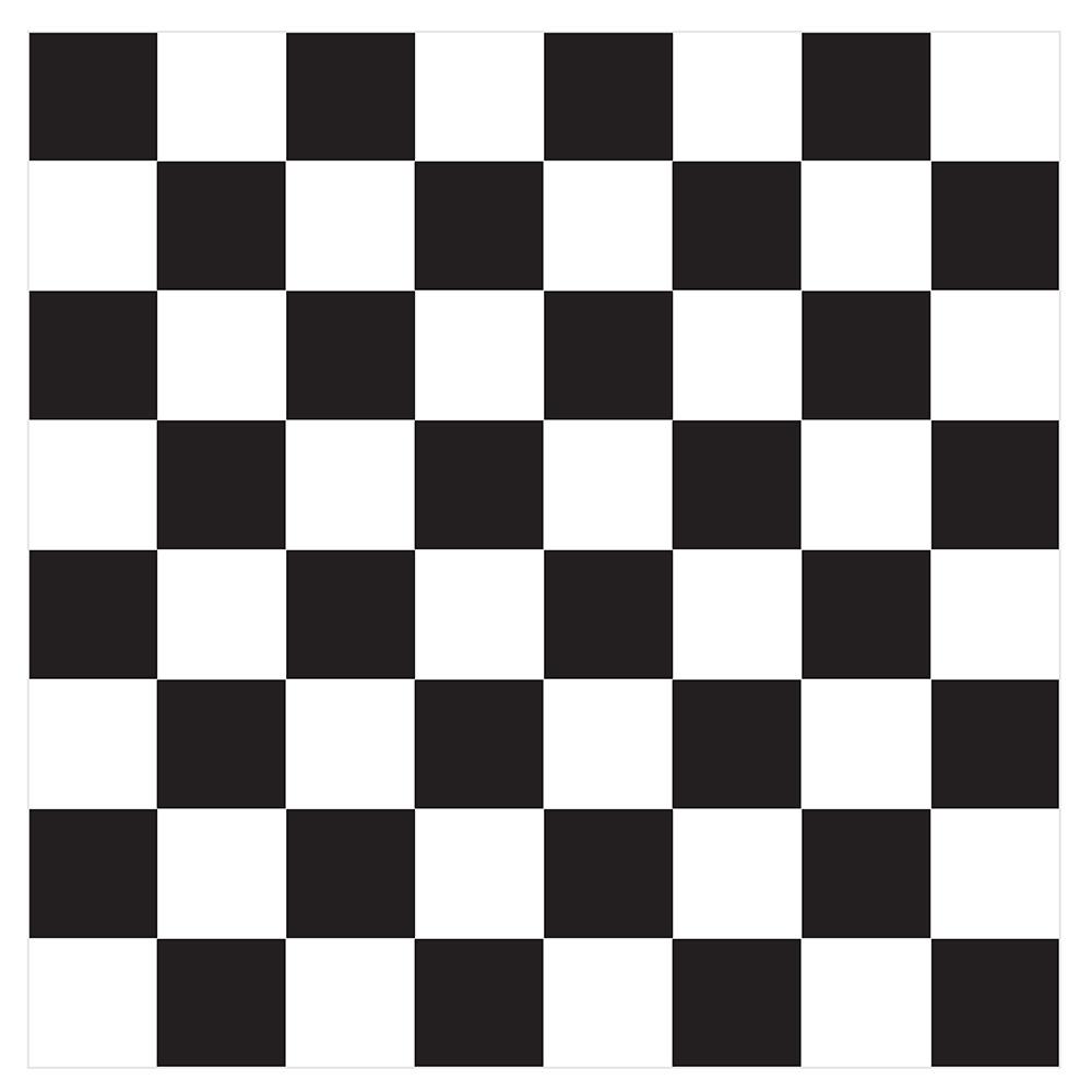 Checkered pattern.