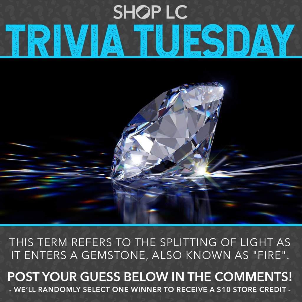 Trivia Tuesday facebook post