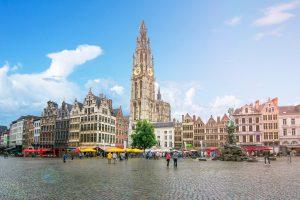 Antwerp, Belgium during the day.