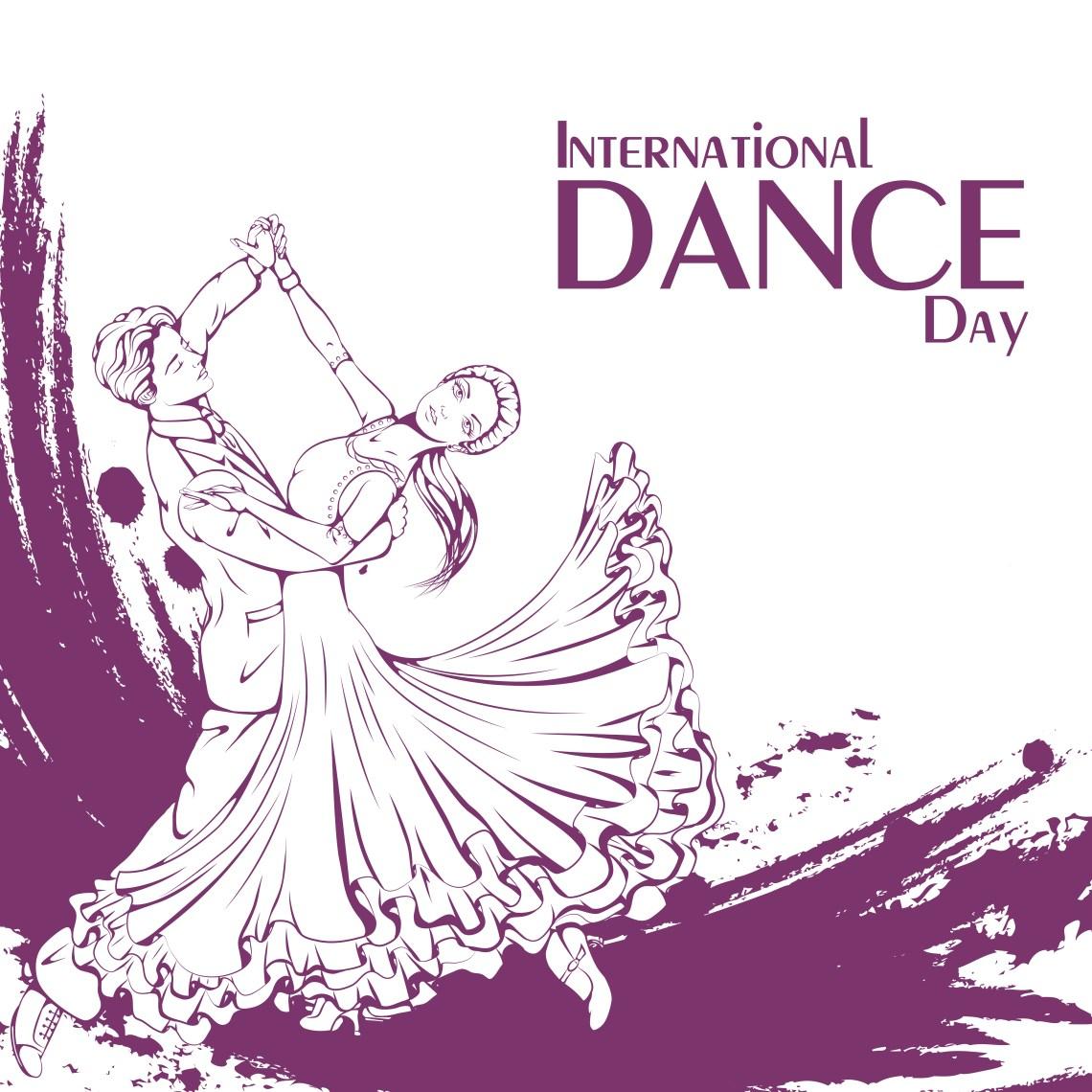 International Dance Day poster.