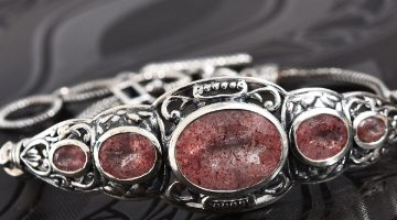Cherry Tanzurine, Zircon Ring in Platinum Over Sterling Silver