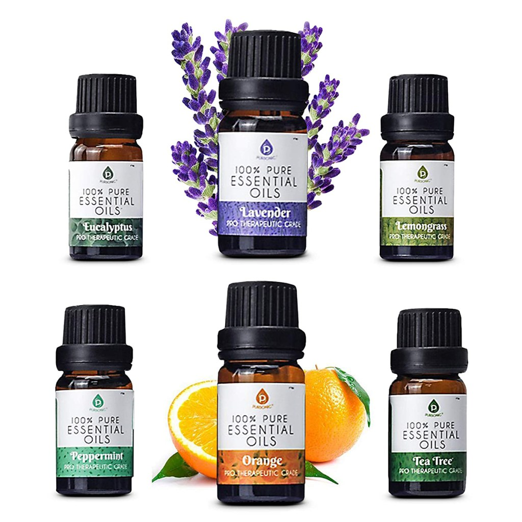 Pursonic Pure Natural Aromatherapy Essential Oils