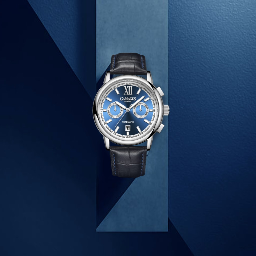 Luxury watch from GAMAGES OF LONDON.