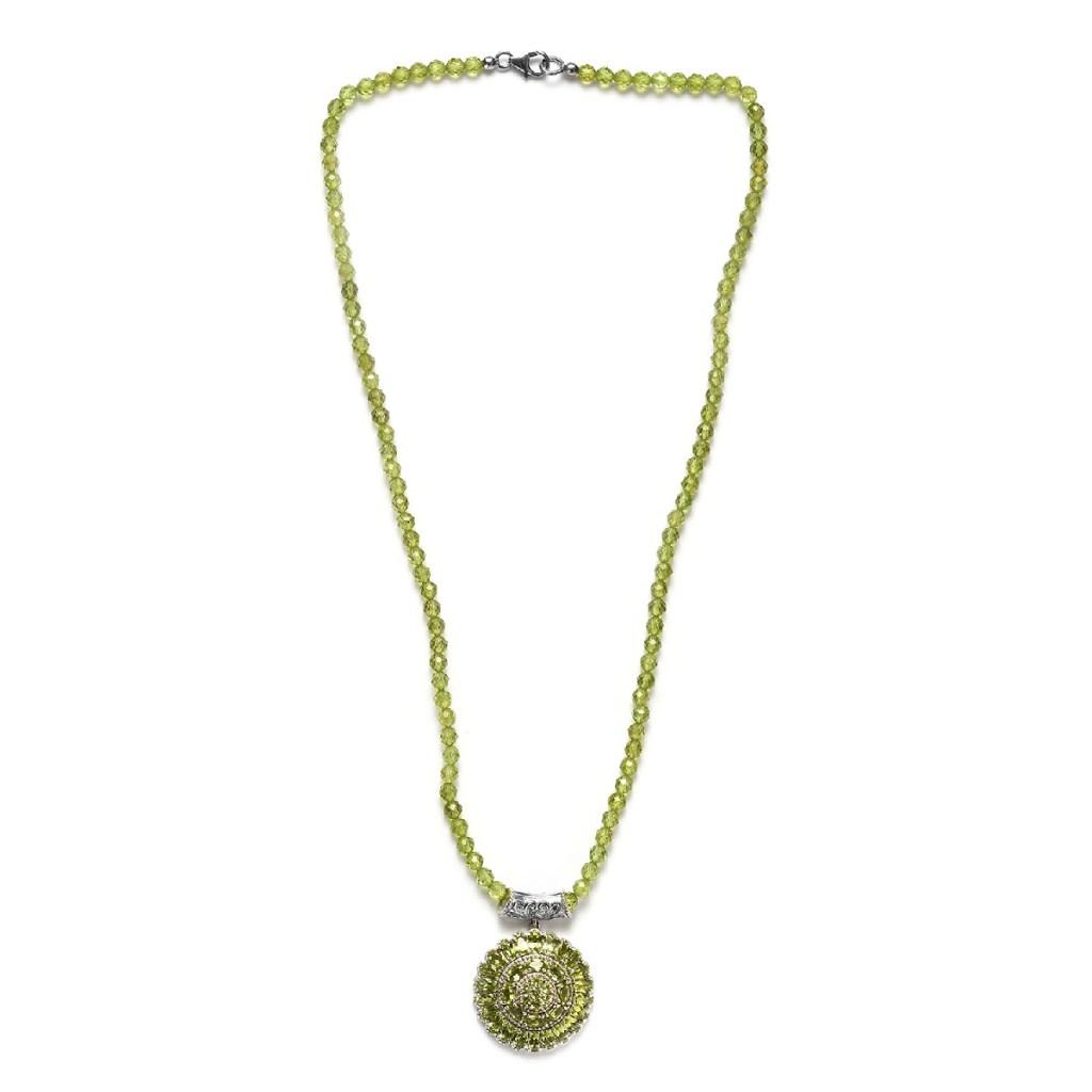 arizona peridot pendant necklace