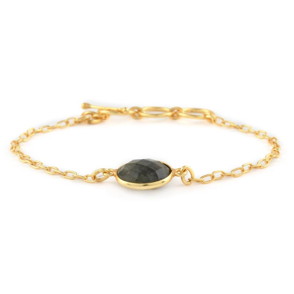 Labradorite alchemy bracelet.