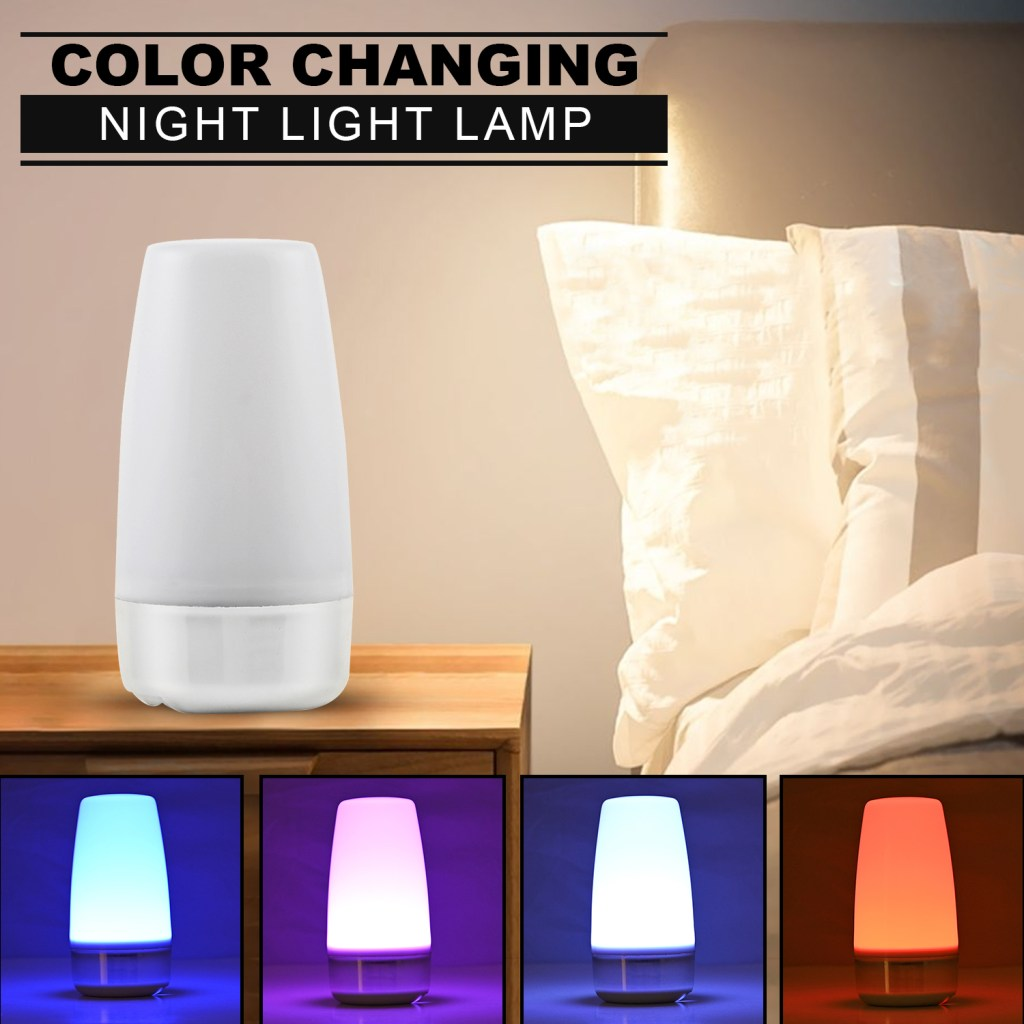 Color changing night light.