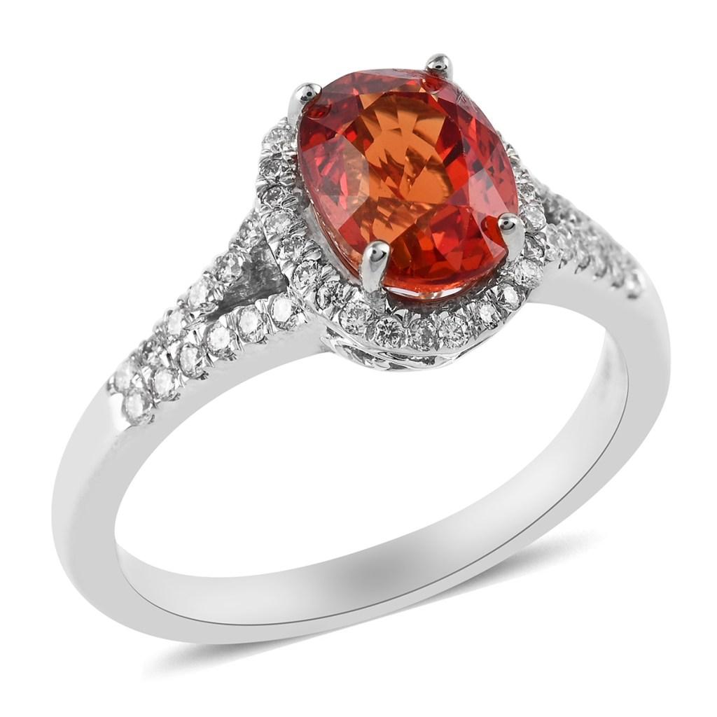 Songea sapphire ring.