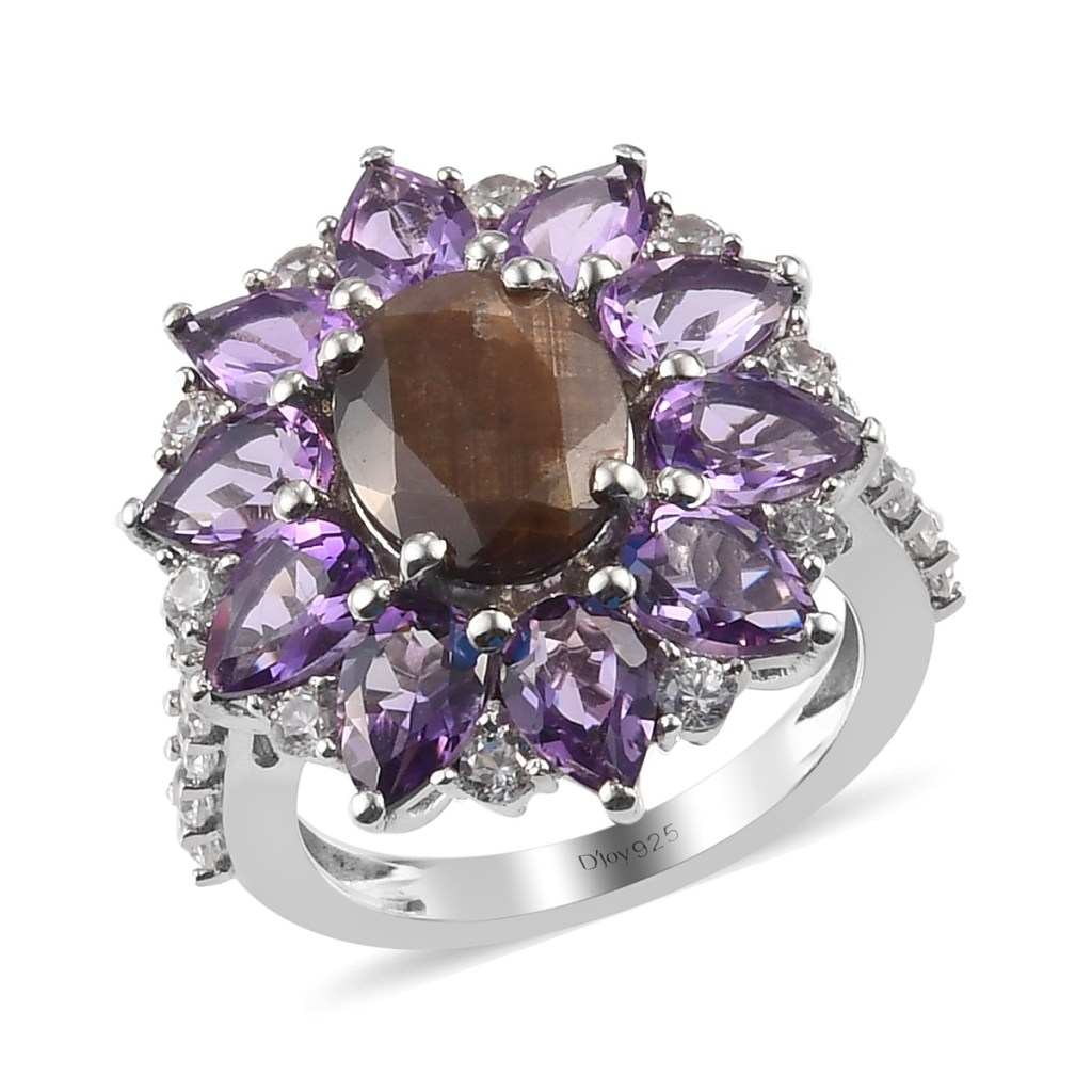 Chocolate sapphire ring.