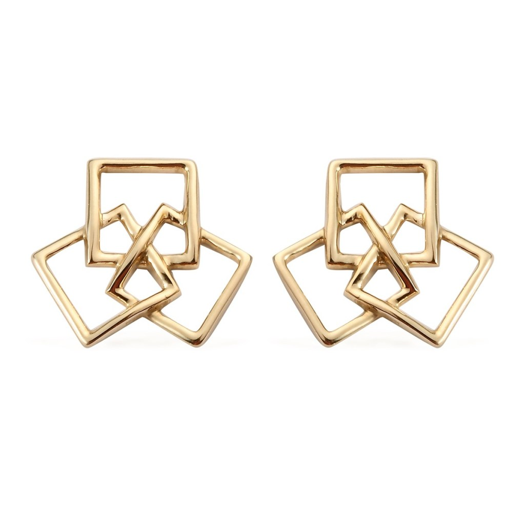 LUXORO 10K Yellow Gold Earrings