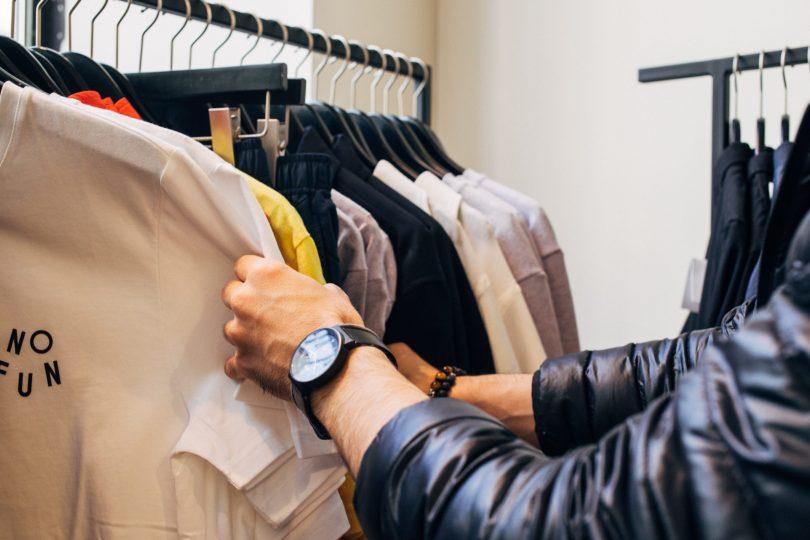Compras en tiendas de ropa rebajas de enero 2020