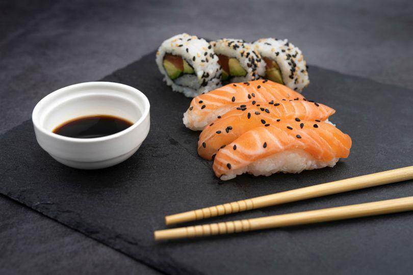 sushi comida a domicilios shoppiday