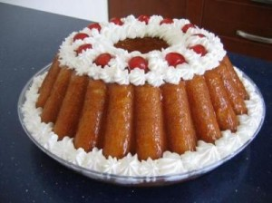 torta babà - pasticceria napoletana