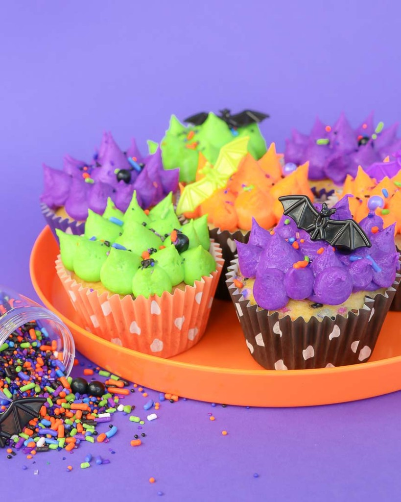 Batty Bakery Halloween Party Ideas Cupcakes