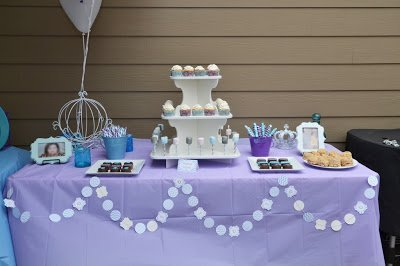 Pastel Princess Birthday Party Table