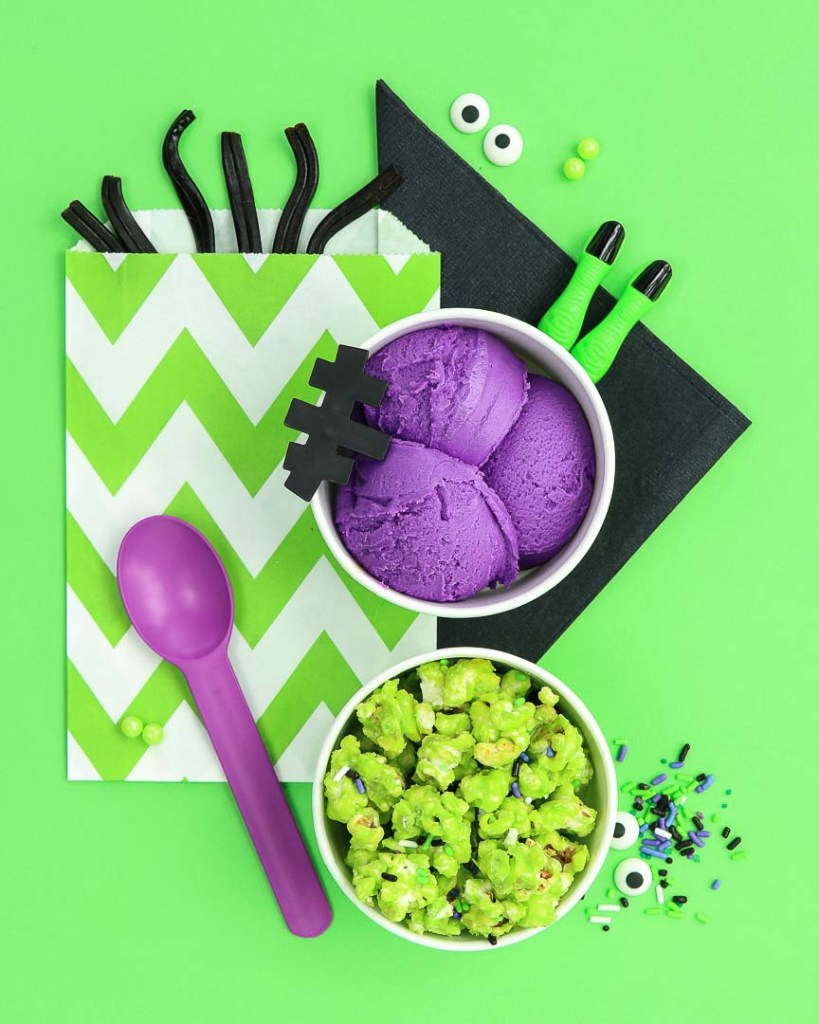 Frankensprinkle Halloween Party Ideas - Party Food