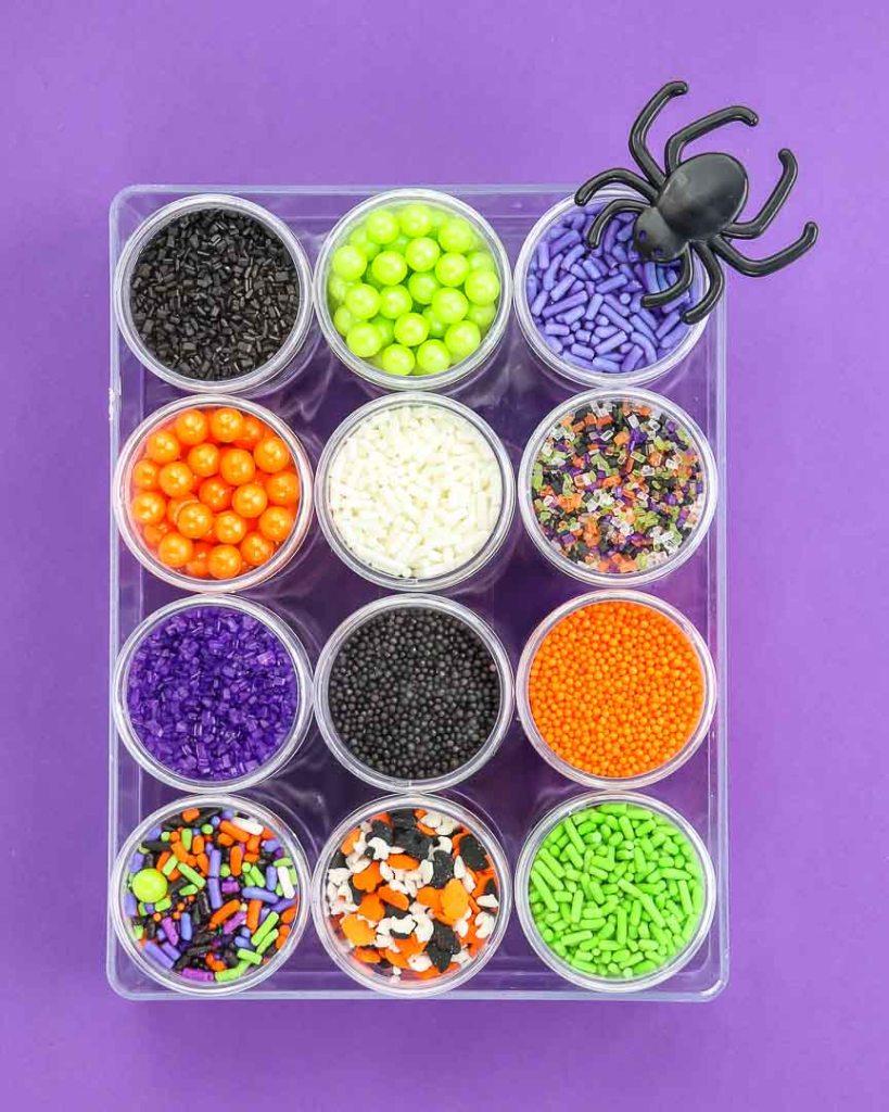 Halloween Sprinkles! DIY Sprinkle Kit Box