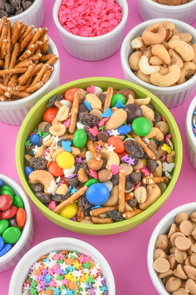 Homemade Trail Mix Recipes with Sprinkles