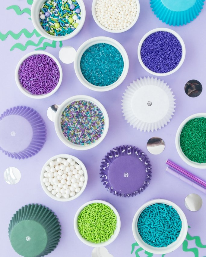 Mermaid party sprinkles.