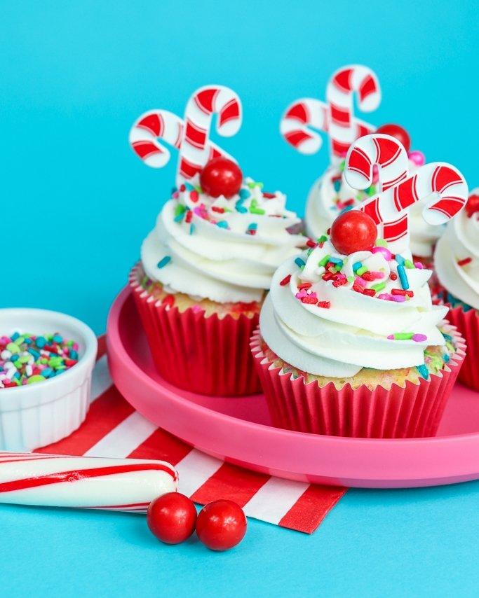 Raspberry Buttercream Cupcakes
