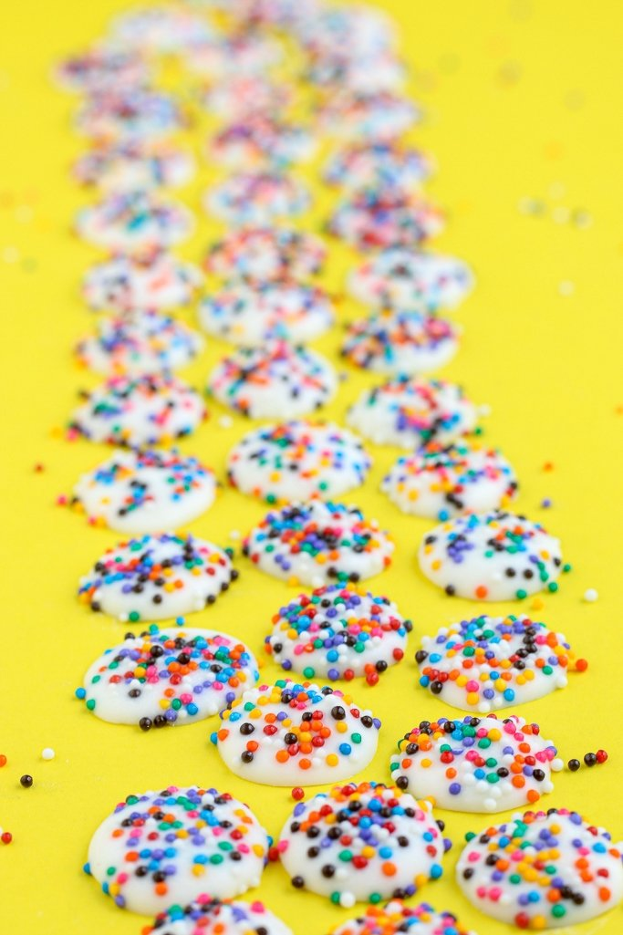 These easy nonpareil candies are tasty, cute, and fun to make!