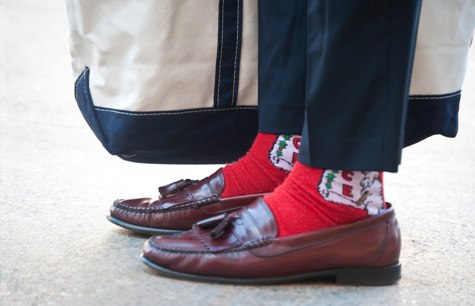 Xmas-loafers