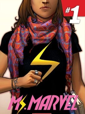 Ms. Marvel #1, courtesy of Marvel Comics.