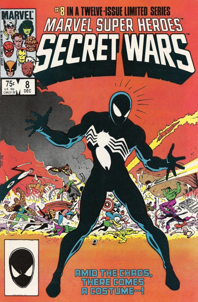The iconic and much sought-after Secret Wars #8