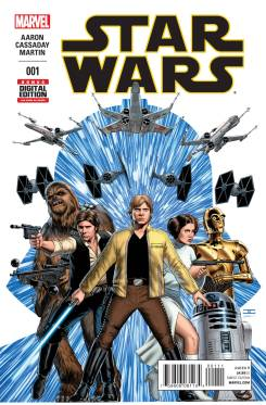 Star Wars #1 with art by John Cassaday