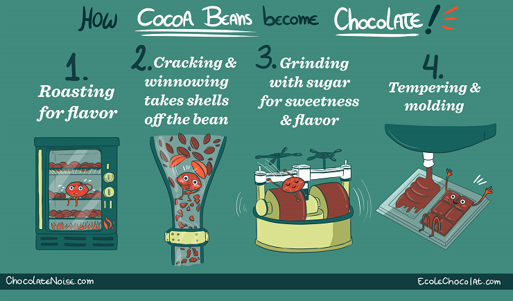 chocolate facts – 37 Chocolates