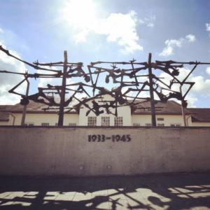 Dachau Main Statue