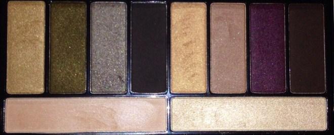 Lorac Stylist Palette shadows