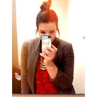 blazer top knot