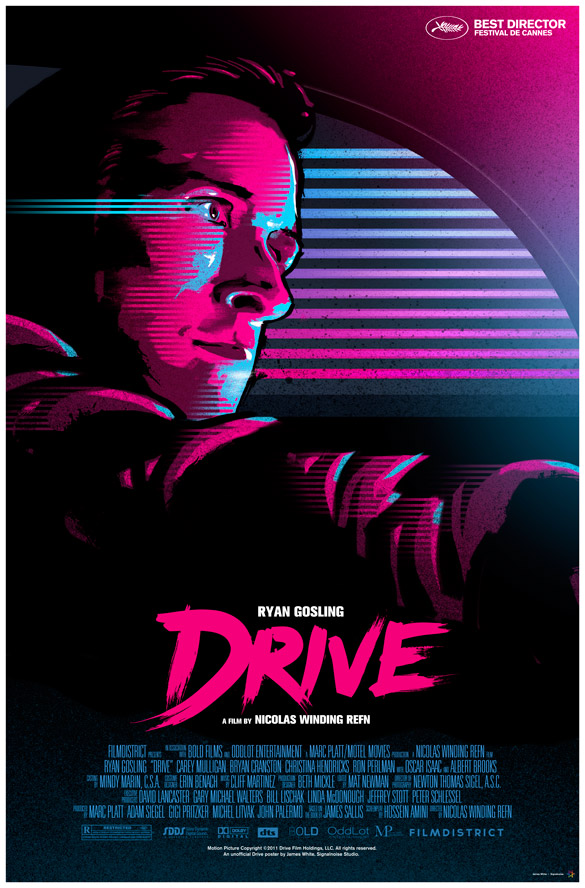"James White's ""Drive"" poster"