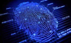 Electronic Signature Fingerprint