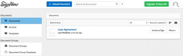 How to Create a Fillable Loan Agreement Template with SignNow ...