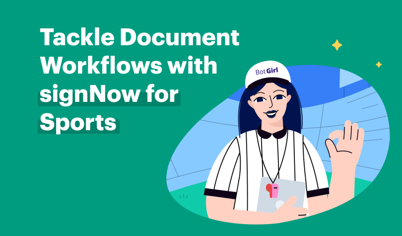 Tackle document workflows with signNow for Sports