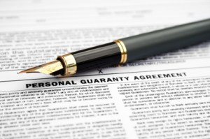 Legal agreement personal guarantee