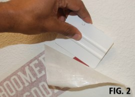 Fig 3 - Squeegee Finesse