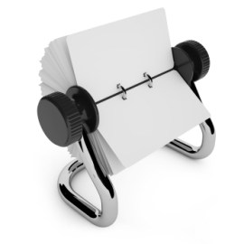 Rolodex Customer Contact