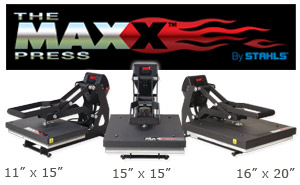 Stahls Maxx Clamshell Heat Press