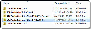 Fig 1: Rename the Installation Folder to avoid overwriting your existing Cloud software